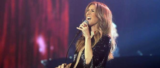 Céline Dion à Bercy, lundi soir.