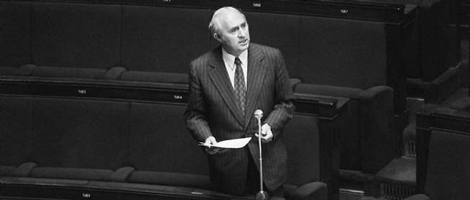 Lucien Neuwirth, ici en 1973 à l'Assemblée nationale.