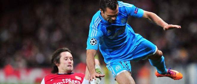 À l'image de Morel, les Marseillais ont souffert face à Arsenal à l'Emirates Stadium.