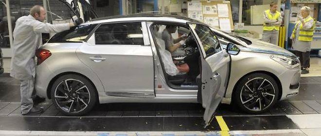 L'usine PSA de Sochaux réembauche pour faire face à l'augmentation de production des Citroën DS5 et des Peugeot 3008/5008 restylés.