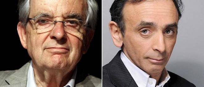 Jean-Pierre Chevènement et Éric Zemmour.