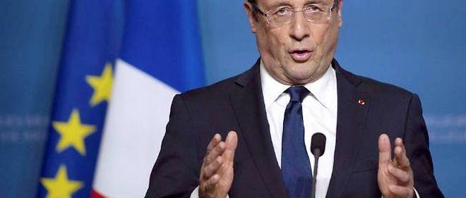 """""""Les chiffres publiés aujourd'hui confirment que la bataille pour l'emploi peut être gagnée"""", a commenté le président de la République. © Bertrand Langlois/AP/SIPA"""