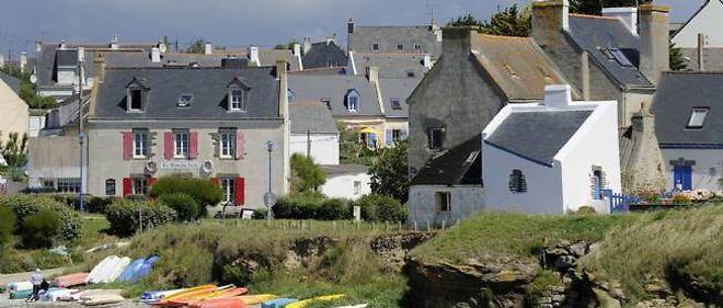 Le village de Locmaria.