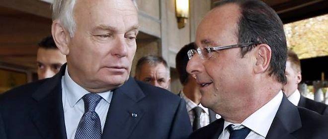 Jean-Marc Ayrault et François Hollande continuent leur dégringolade dans les sondages.