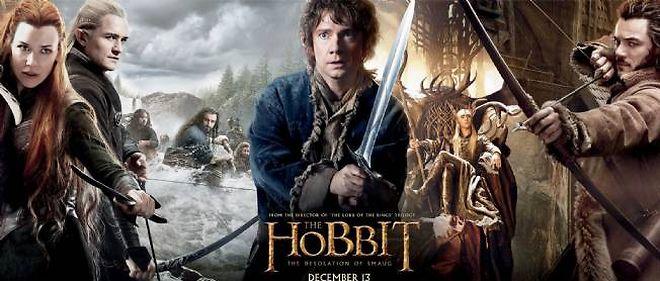 """""""Le Hobbit : la désolation de Smaug"""", en salle le 11 décembre 2013."""