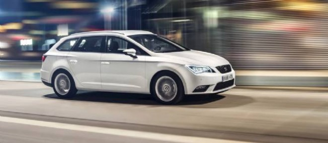Seat ne peut renier sa parenté de plus en plus marquée avec le groupe Volkswagen, y compris avec Audi dans cette version break SR de sa Leon.