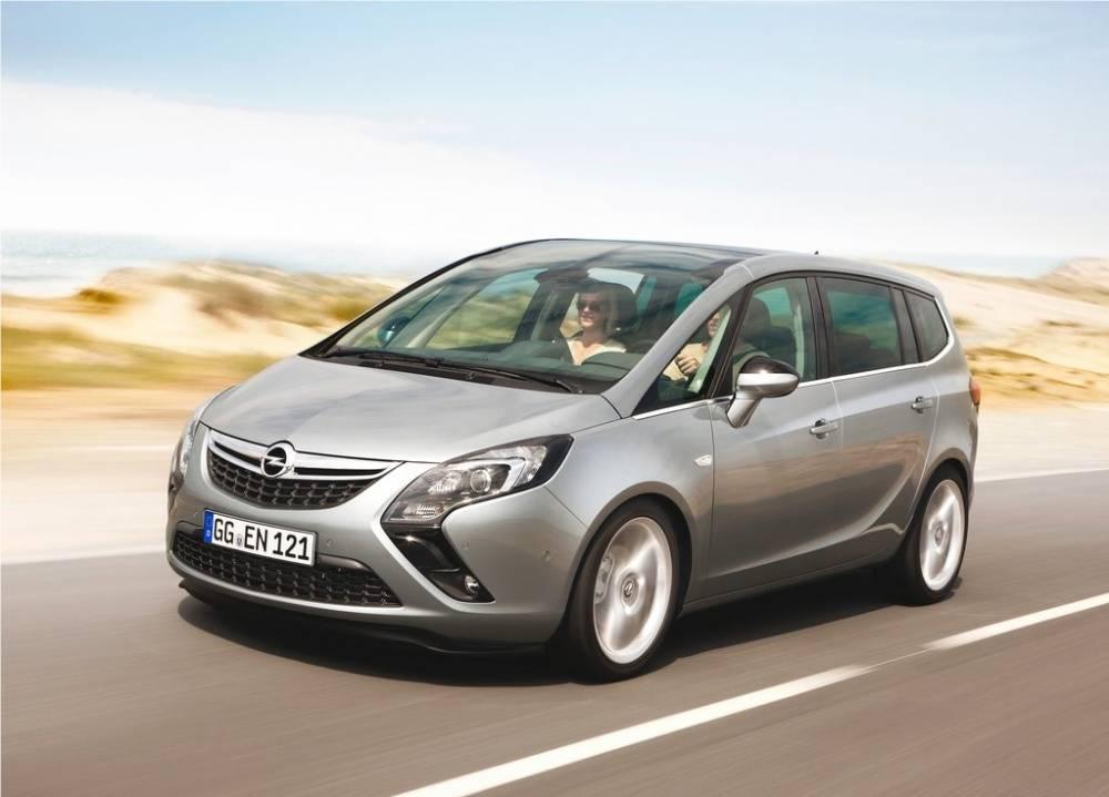 Opel Zafira, un grand monospace à sept places.