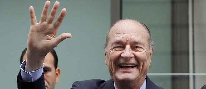 Jacques Chirac, le president