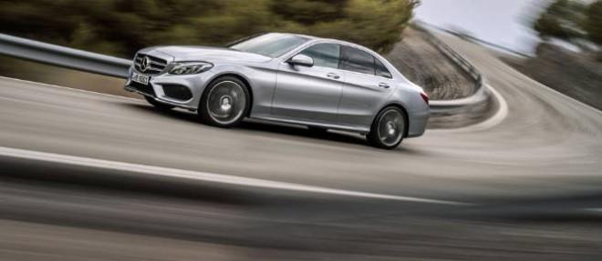 La nouvelle Mercedes Classe C fera sa première apparition publique au Salon de Detroit en janvier prochain.