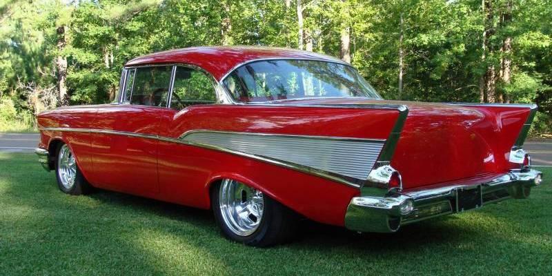 """La Chevrolet """"Chevy"""" 57, toute une légende à elle seule. ©  DR"""