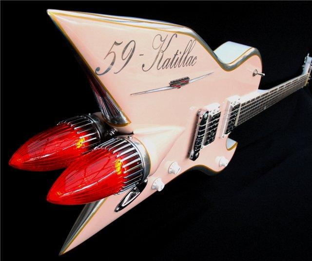Celle-ci s'inspire, comme son nom l'indique, d'une Cadillac 1959. ©  DR