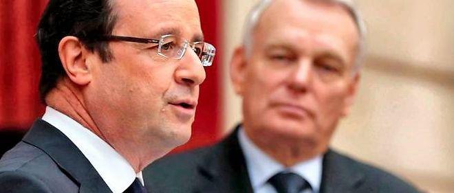 François Hollande et Jean-Marc Ayrault