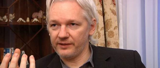 Julian Assange a Londres