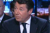 Christian Estrosi dimanche soir sur BFM TV. ©Capture d'écran BFM TV