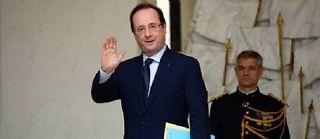 François Hollande, président de la République, à l'Élysée, le 23 décembre 2013. ©Bertrand Guay
