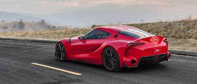 Très travaillée sur le plan aérodynamique, cette étonnante création du Calty Design est bien américaine, même s'il s'agit d'une Toyota.
