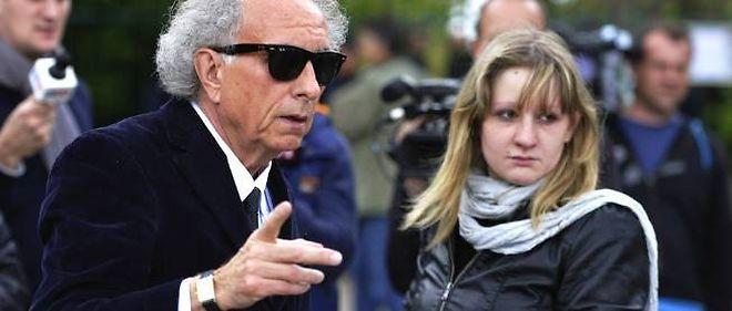 Cécile Bourgeon et son avocat, Me Portejoie, en mai 2013.