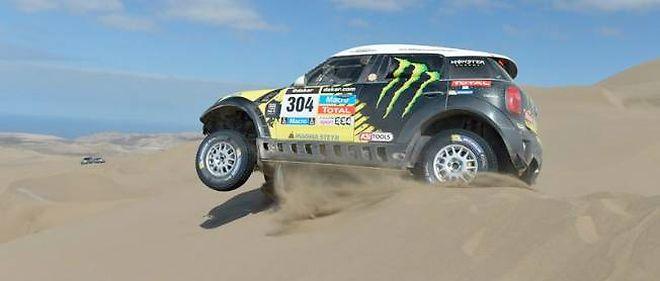 Dakar 2014 - 11e étape   Mini 592ed5cb514