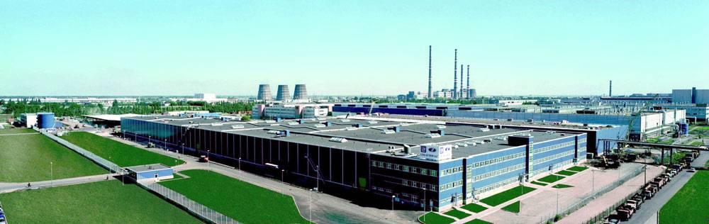 L'usine Avtovaz construite par les Italiens.