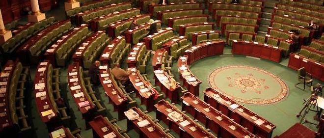 Assemblee nationale tunisienne. (C) MOHAMED HAMMI / SIPA
