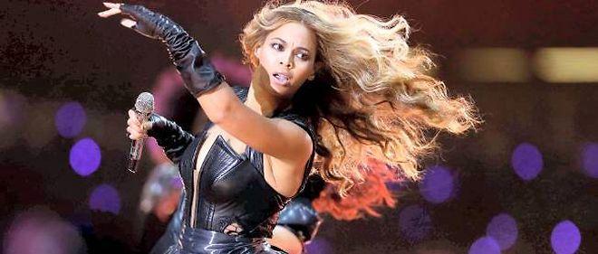 Beyoncé en février 2013.