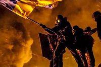 Le 25 janvier dans le centre de Kiev. ©Andrey Stenin