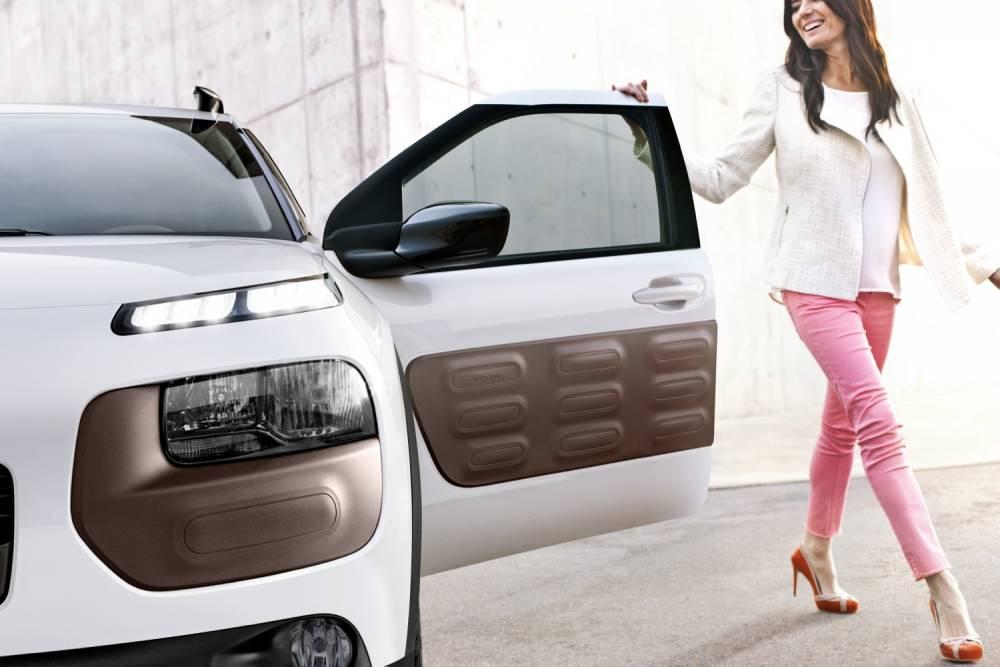 Les airbumps sont là pour veiller au grain et protéger la carrosserie. ©  Citroën
