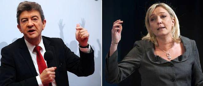 Jean-Luc Mélenchon a été battu au premier tour des législatives dimanche, alors que Marine Le Pen se qualifie pour le second tour.
