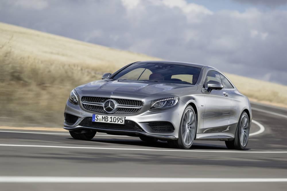 La grise met en valeur les formes très travaillées des flancs. ©  Mercedes