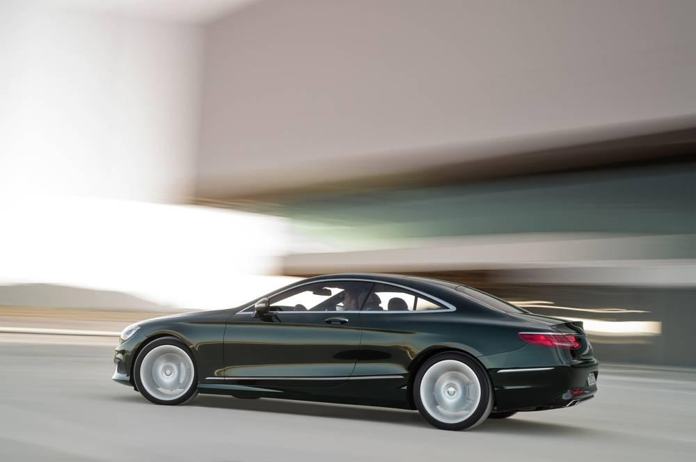 La verte, très britsih d'aspect. ©  Mercedes