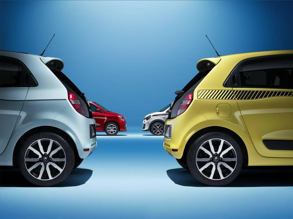 La Fiat 500 dansle collimateur mais avec deux portes en plus et pas de vitres descendantes à l'arrière. ©  Renault