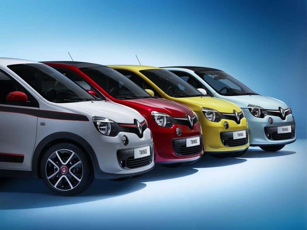 Toute en couleurs, comme la Twingo 1 dont c'est bien le seul point commun. ©  Renault