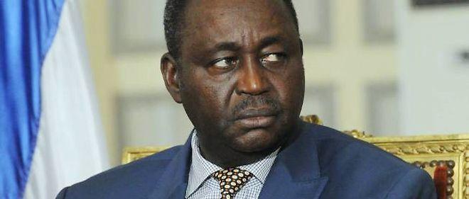 François Bozizé le 8 janvier 2013 à Bangui.
