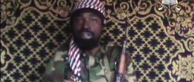 Capture d'écran d'une vidéo montrant un homme qui se prétend leader de Boko Haram, Abubakar Shekau.