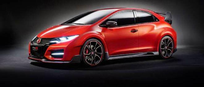 Le Concept Civic Type R préfigure la petite bombe qui devrait arriver dans les concessions Honda au printemps 2015.