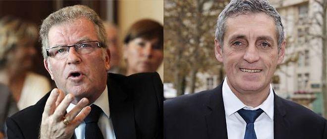 Jean-Pierre Moure et Philippe Saurel