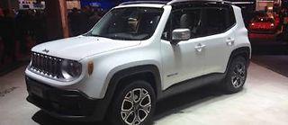La Renegade est la première Jeep de l'histoire construite en Italie.