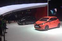 La Aygo (3,45 m) partage la plate-forme et l'usine avec ses cousines du groupe PSA, la Citroën C1 et la Peugeot 108.