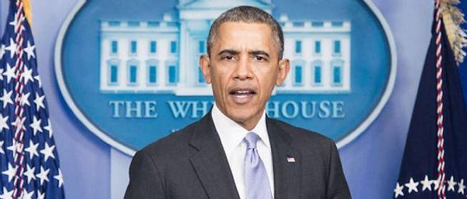 """Barack Obama a tenu à rappeler qu'il """"existe aussi une façon de résoudre cette crise en respectant les intérêts de la fédération de Russie et des Ukrainiens""""."""