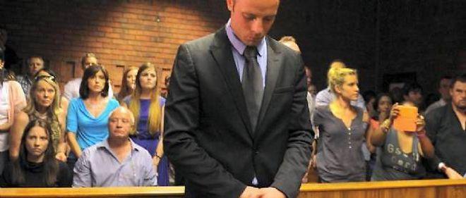 Oscar Pistorius à son procès.
