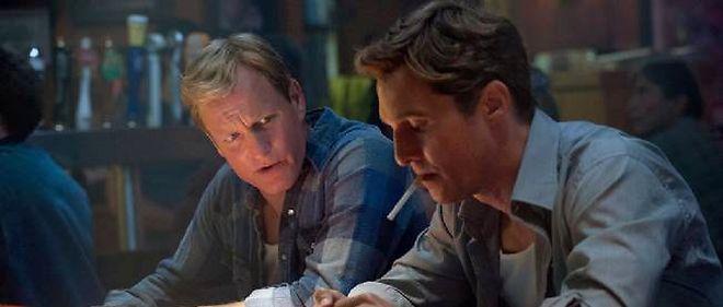 """Woody Harrelson et Matthew McConaughey dans """"True Detective""""."""