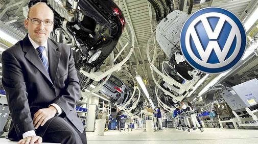 Christian Klingler chez Volkswagen Group vise la 1 ére place absolue cette année devant Toyota ©  DR