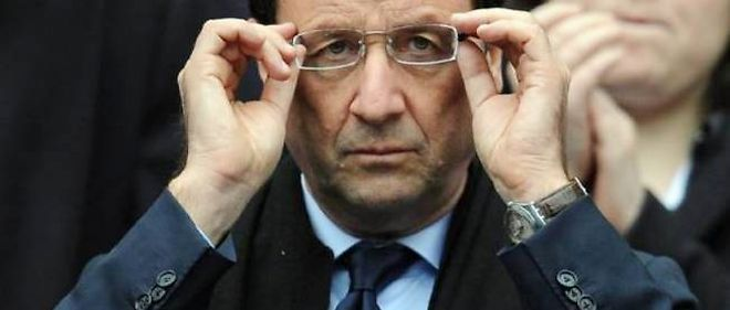 Francois Hollande, president de la Republique.