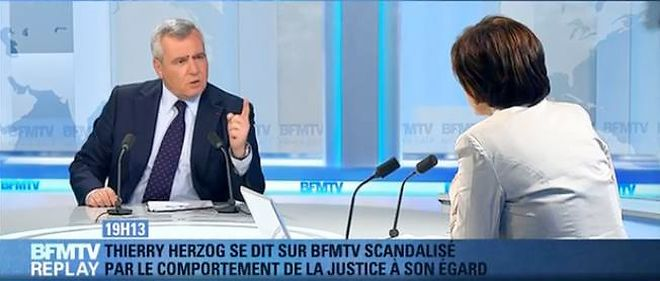 """Maître Thierry Herzog, l'avocat de Nicolas Sarkozy, a vivement réagi vendredi soir sur BFM TV aux informations publiées par """"Le Monde"""" selon lesquelles l'ex-chef de l'État serait actuellement, et depuis quelques mois, sur écoute dans le cadre d'une enquête pour corruption."""