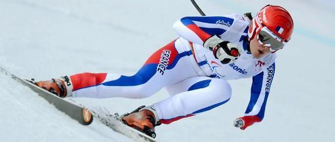 Marie Bochet, une jeune Savoyarde de 20 ans, avait apporté à la France sa première médaille d'or de ces jeux Paralympiques en remportant la descente samedi.