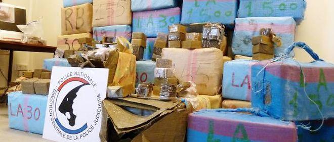 1,57 tonne de cannabis a été saisie le lundi 10 mars 2014 à Gretz-Armainvilliers.