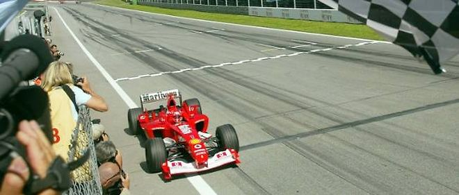 C'était en 2003, le 18 mai, et Michaël Schumacher remportait le GP d'Autriche à Zeltweg au volant de la Ferrari.