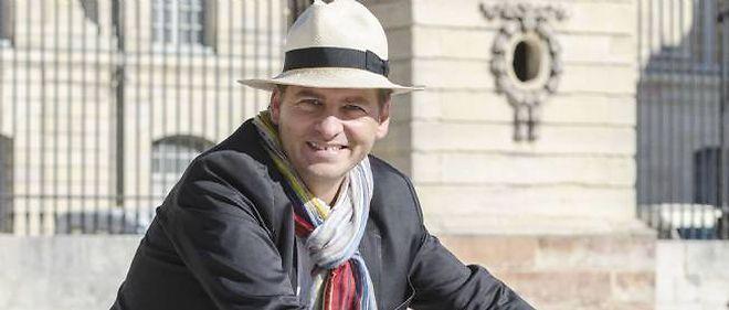 David Lanaud du Gray est le candidat insolite de Dijon pour les municipales.