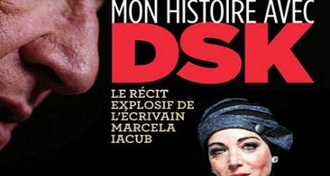Marcella Iacub/DSK : une couverture controversée ©  Capture d'écran