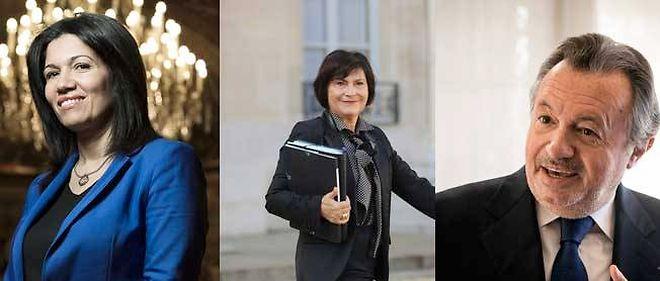Samia Ghali, Marie-Arlette Carlotti et Jean-Noël Guérini.